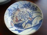 青花釉里红瓷盘